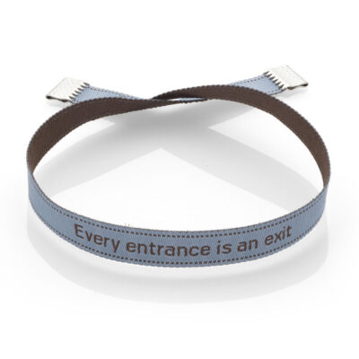 Every entrance is an exit bracelet | imisi collection