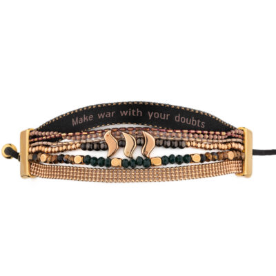 Make war with your doubts bracelet | imisi collection